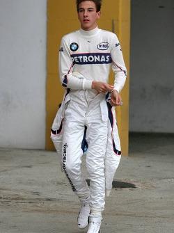 Christian Vietoris, Test Driver, BMW Sauber F1 Team. F1.07