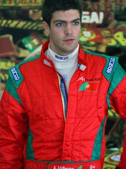Joao Urbano, driver of A1 Team Portugal