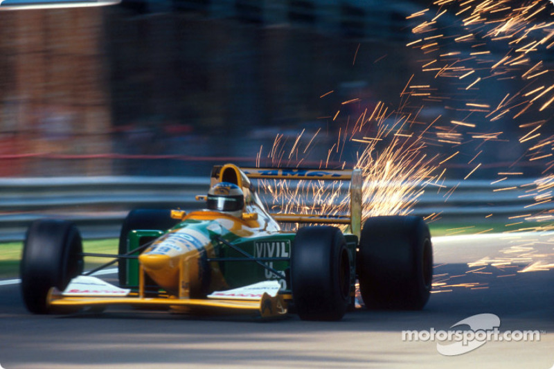 F1, Spa 1992: Michael Schumacher, Benetton B192