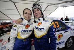 Claudiu David and Mihaela Beldie