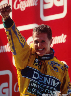 Podium: 1. Michael Schumacher, Benetton