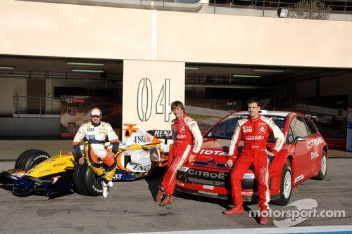 Sébastien Loeb vs Heikki Kovalainen event