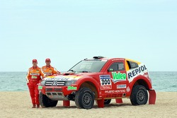 Repsol Mitsubishi Ralliart Team: Stephane Peterhansel and Jean-Paul Cottret