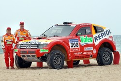 Repsol Mitsubishi Ralliart Team: Luc Alphand y Gilles Picard