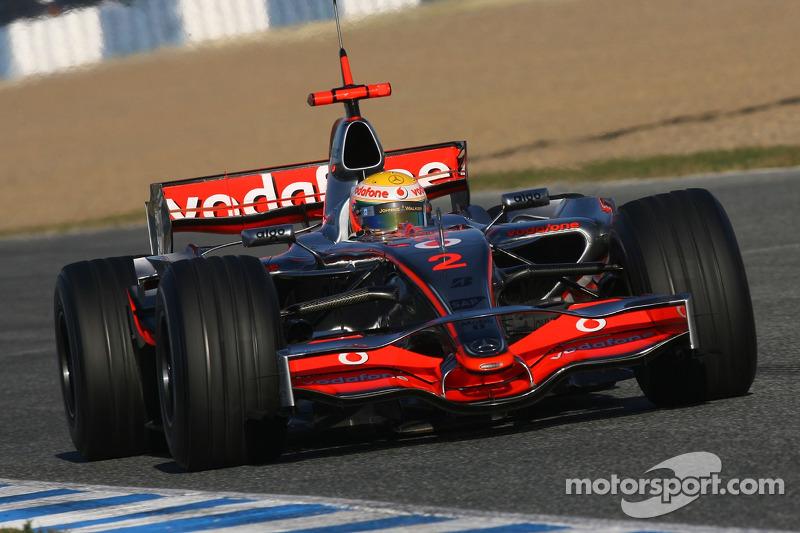 #38: McLaren MP4-22 (2007)