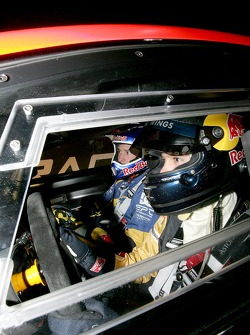 Travis Pastrana and Sebastian Vettel