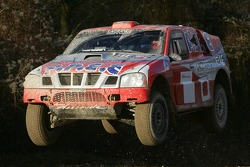 Team Dessoude test in Le Galicet: Christian Lavieille and FranÁois Borsotto