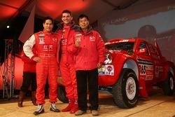 Team Dessoude presentation in Saint Lo: Xu Lang and Fabian Lurquin