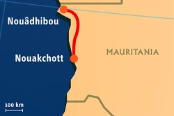 Stage 09: 2008-01-14, Nouakchott to Nouhadibou