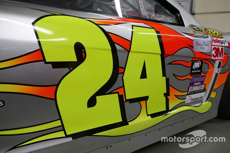 Farbdesign von Jeff Gordon für sein letztes Rennen