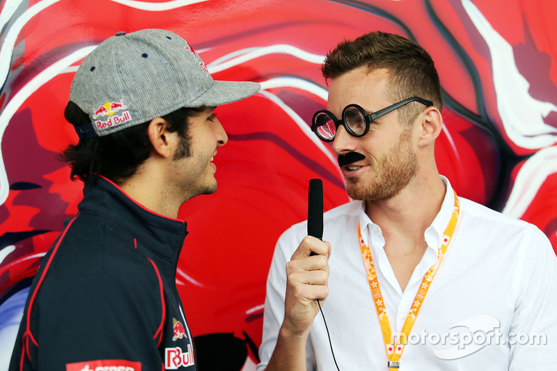 Carlos Sainz Jr., Scuderia Toro Rosso with James Rossiter