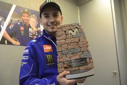 Aragon GP Moviestar trophy designed by Jorge Lorenzo