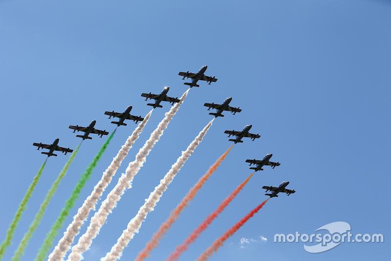 Flugshow der italienischen Luftwaffe