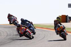 Loris Baz, Forward Racing Yamaha; Marc Marquez, Repsol Honda Team; Scott Redding, Marc VDS Racing Ho