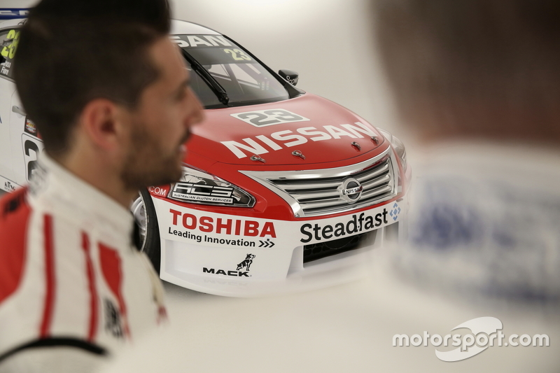 Michael Caruso ve Jim Richards, Nissan Motorsports
