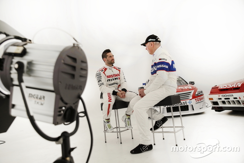 Michael Caruso ve Jim Richards, Nissan Motorsports videosu