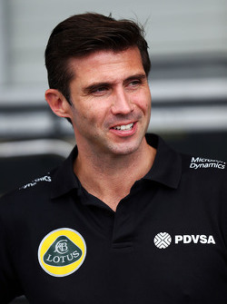 Matthew Carter, Lotus F1 Team CEO