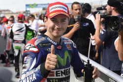 Второе место в квалификации - Хорхе Лоренсо, Yamaha Factory Racing