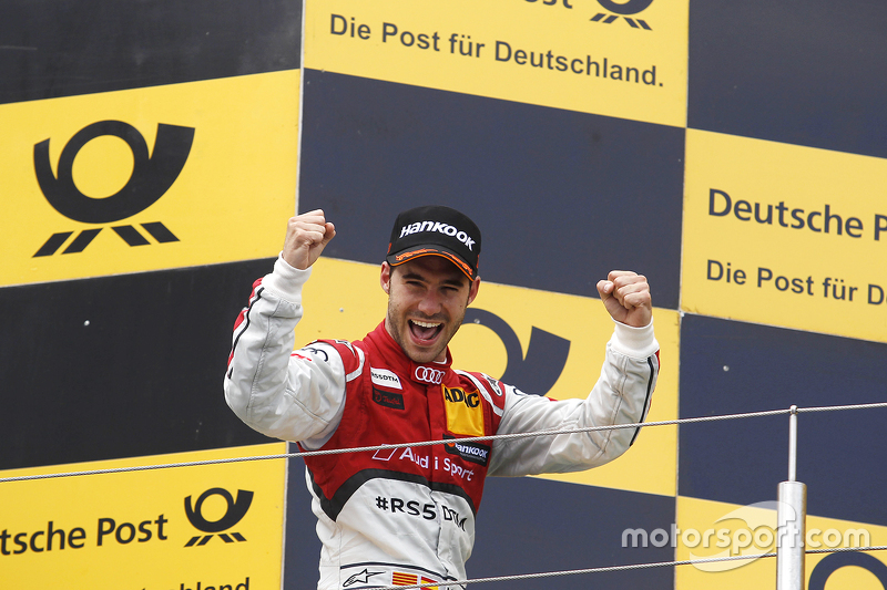 Race winner Miguel Molina, Audi Sport Team Abt Audi RS 5 DTM