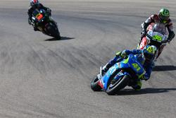Aleix Espargaro, Team Suzuki MotoGP and Cal Crutchlow, Team LCR Honda and Bradley Smith, Tech 3 Yamaha