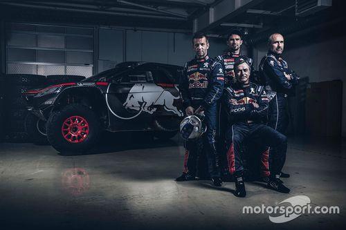 Peugeot stellt Dakar-Kader vor