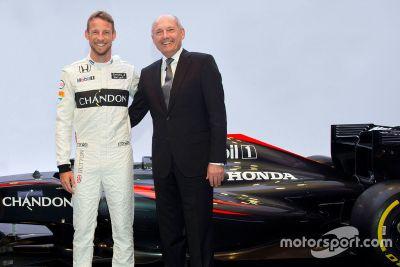 McLaren Button announcement