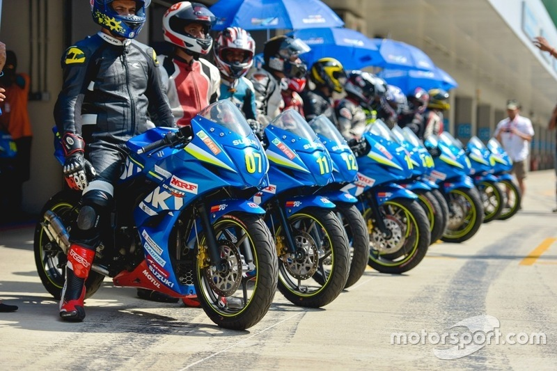 Participants Suzuki Gixxer Cup
