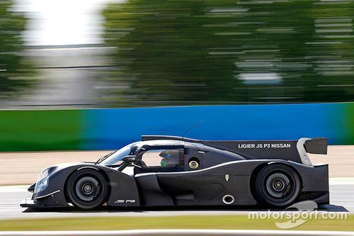 Representación del Ligier JS P3