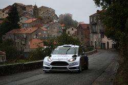 Elfyn Evans e Daniel Barrit, M-Sport Ford Fiesta WRC