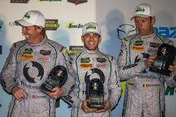 GTD third place finishers #93 Riley Motorsports Dodge Viper SRT: Al Carter, Cameron Lawrence, Marc Goossens