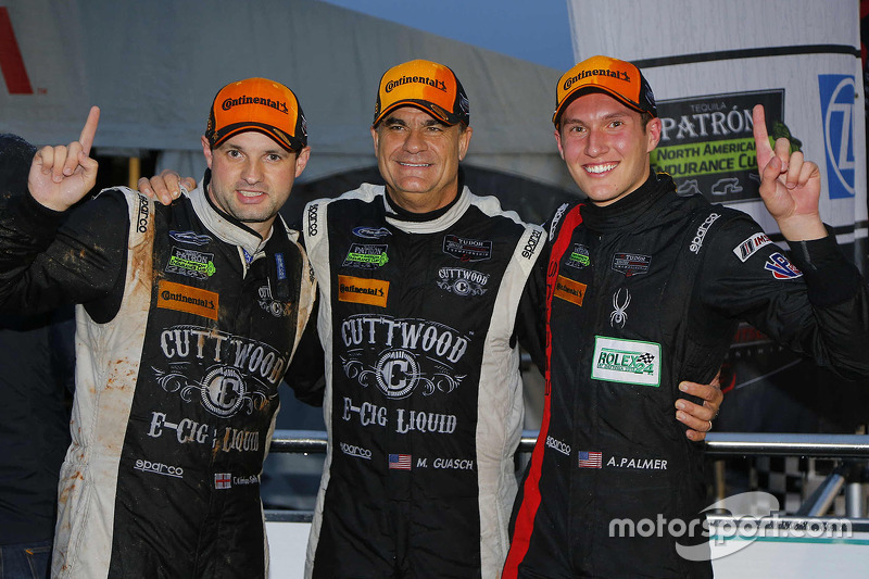 PC class winners ##52 PR1 Mathiasen Motorsports Oreca FLM09: Mike Guasch, Tom Kimber-Smith, Andrew Palmer
