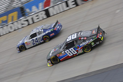 Eric McClure, JGL Racing Toyota and Ben Rhodes, JR Motorsports Chevrolet