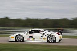 #99 Ferrari dell'Ontario Ferrari 458: Barry Zekelman