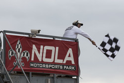 NOLA checkered flag