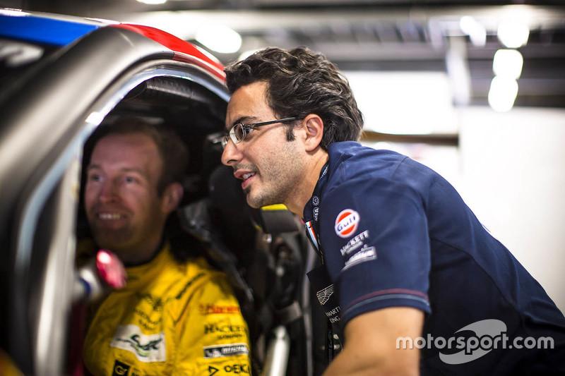 Stefan Mücke und Fernando Rees, Aston Martin Racing