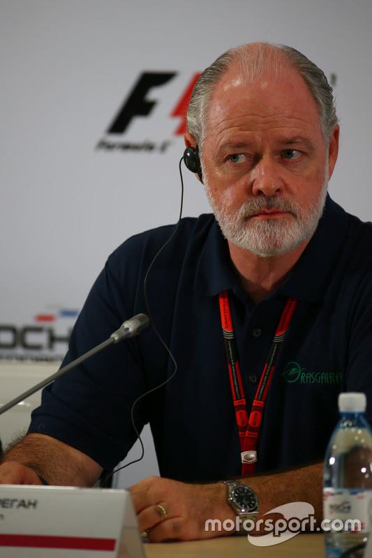 Richard Cregan, Russian Grand Prix Consulatant