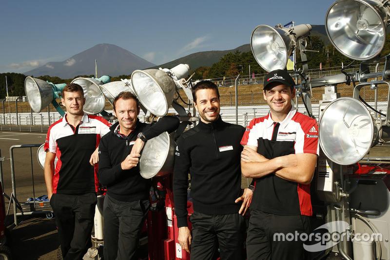 Michael Christensen, Patrick Pilet, Frederic Makowiecki, Richard Lietz, Porsche Manthey Takımı