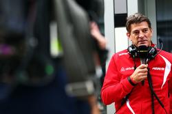 Грэм Лоудон, исполнительный директор Manor F1 Team