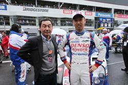Казукі Накаджіма, Toyota Racing зі своїм батьком Satoru Nakajima