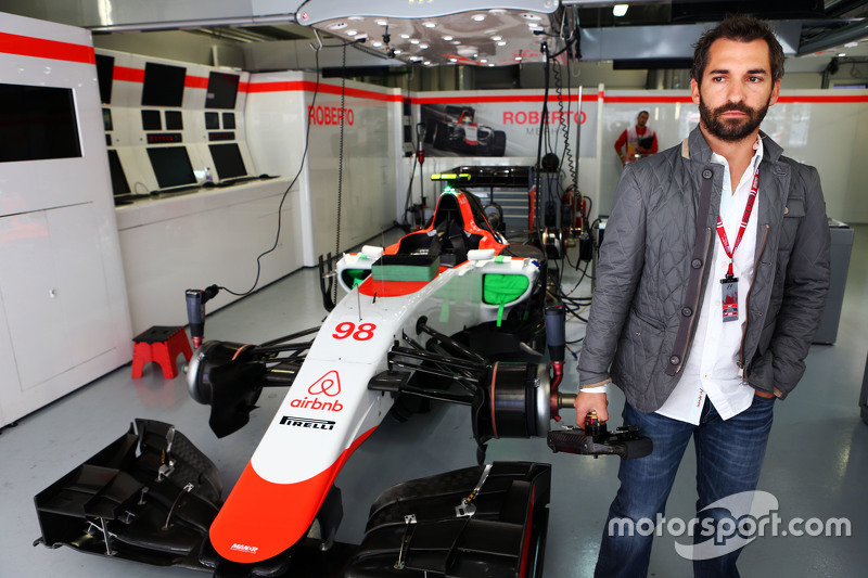 Timo Glock, with the Manor F1 Team