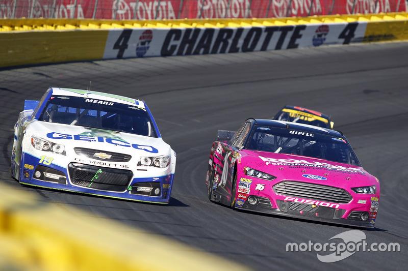Кейсі Мірс, Germain Racing Chevrolet та Грег Біффл, Roush Fenway Racing Ford