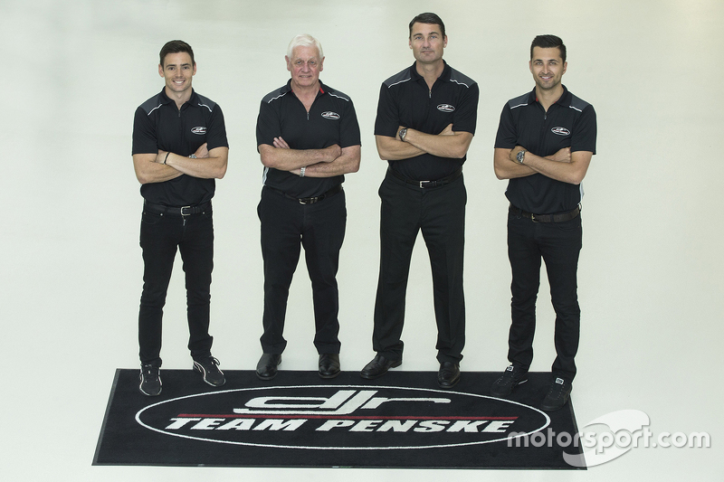 Scott Pye, Dick Johnson, Tim Cindric, Fabian Coulthard, DJR Team Penske