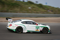 #8 Bentley Team HTP, Bentley Continental GT3: Fabian Hamprecht, Clemens Schmid