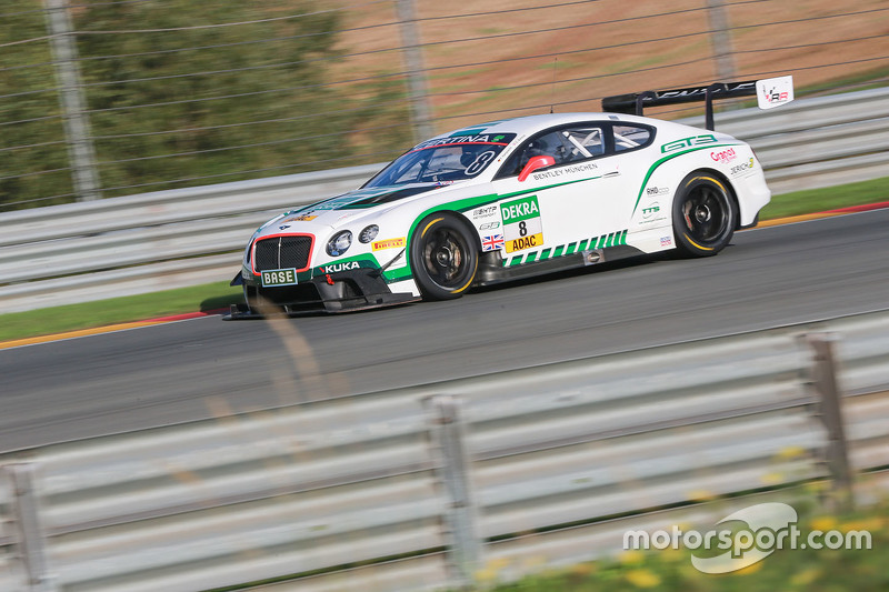 #8 Bentley Team HTP Bentley Continental GT3: Fabian Hamprecht, Клеменс Шмід