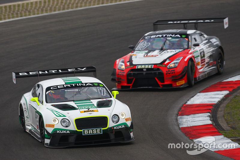 #7 Bentley Team HTP Bentley Continental GT3: Jeroen Bleekemolen, Luca Stolz