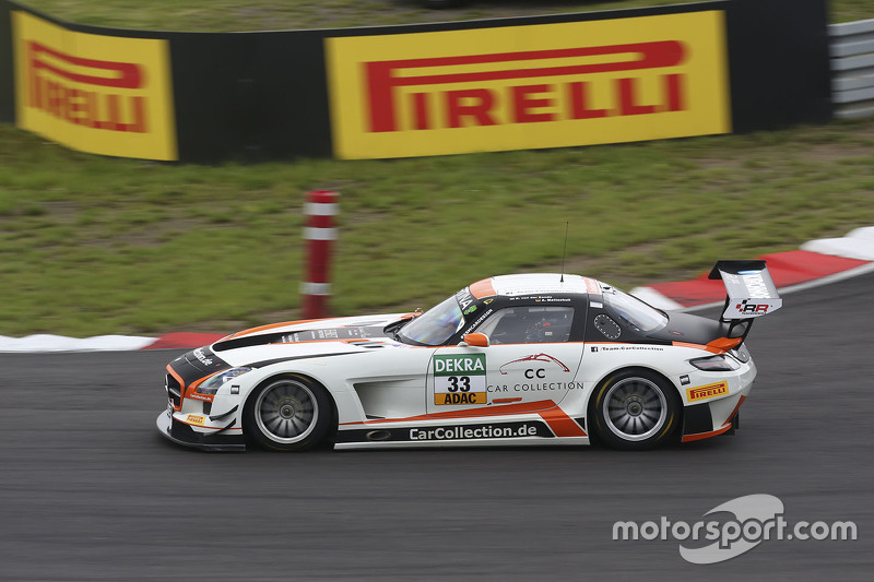#33 Car Collection Motorsport Mercedes-Benz SLS AMG GT3: Alexander Mattschull, Renger van der Zande