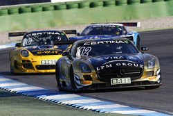 #42 HP Racing Mercedes-Benz SLS AMG GT3: Harald Proczyk, Andreas Simonsen
