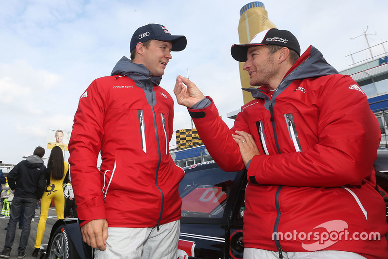 Mattias Ekström, Audi Sport - Takım: Abt Sportsline, Audi A5 DTM ve Timo Scheider, Audi Sport - Takı