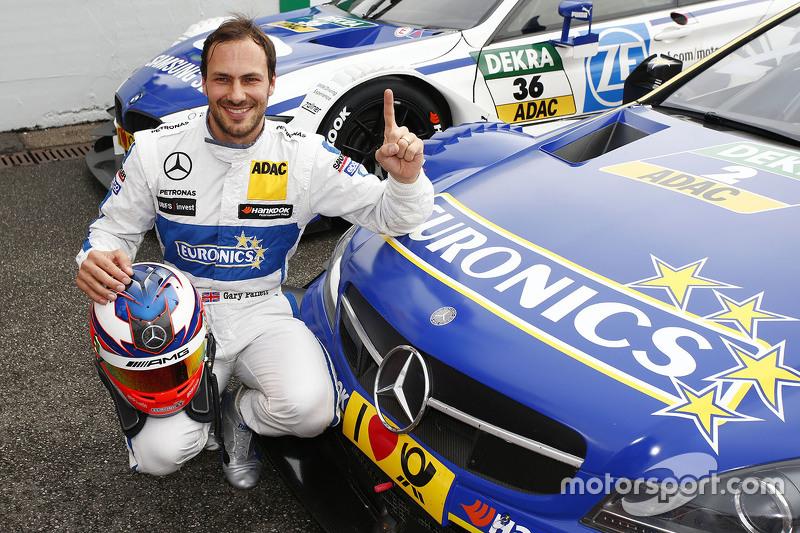 Polesitter Gary Paffett, ART Grand Prix Mercedes-AMG C63 DTM