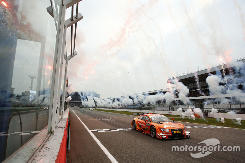 Jamie Green, Audi Sport Team Rosberg Audi RS 5 DTM takes the win